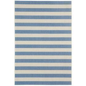 Finesse-Stripe Capri Blue