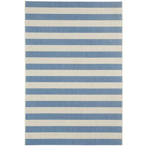 Gallery - Finesse-Stripe Capri Blue
