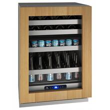 "24"" Dual-zone Beverage Center With Integrated Frame Finish and Field Reversible Door Swing (115 V/60 Hz Volts /60 Hz Hz)"