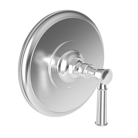 Newport Brass - Polished Nickel - Natural Balanced Pressure Shower Trim Plate with Handle. Less showerhead, arm and flange.