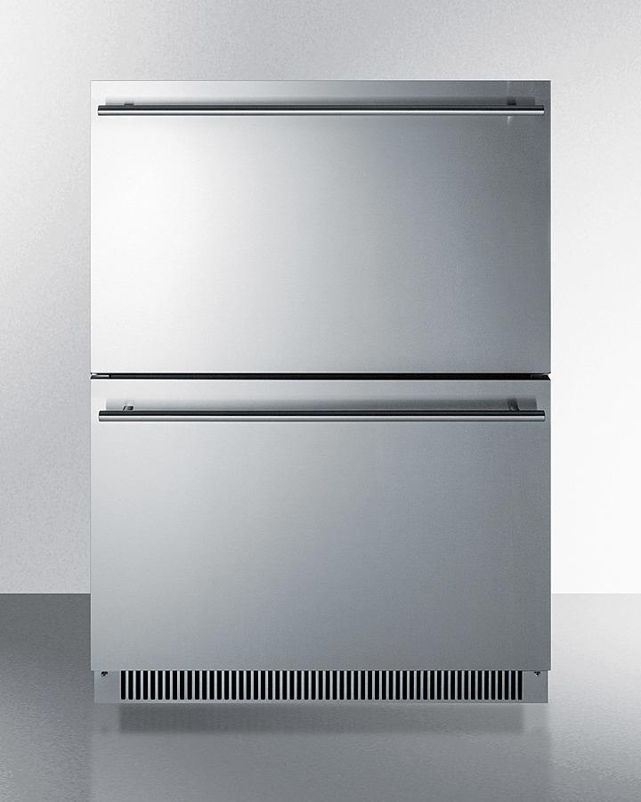 "Summit24"" Wide 2-Drawer All-Refrigerator, Ada Compliant"
