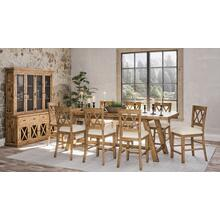Telluride Trestle Table W/(10) Stools