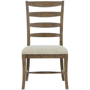 Rustic Patina Ladderback Side Chair in Peppercorn (387)