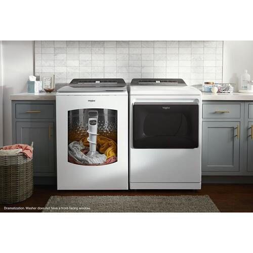 Whirlpool - 7.4 cu. ft. Top Load Gas Dryer with Advanced Moisture Sensing