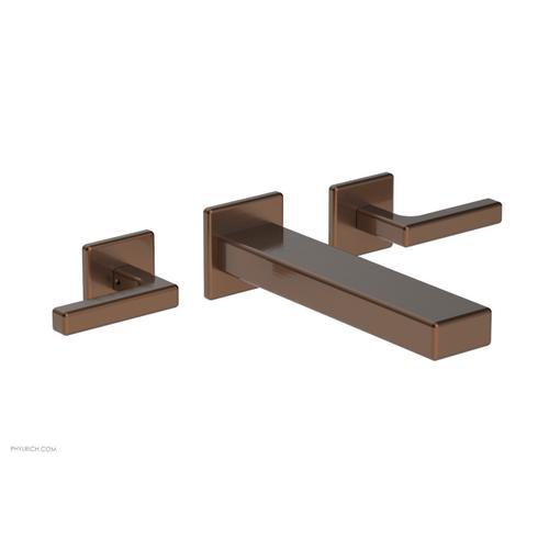 MIX Wall Lavatory Set - Lever Handles 290-12 - Antique Copper