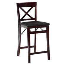 Triena X Back Folding Counter Stool