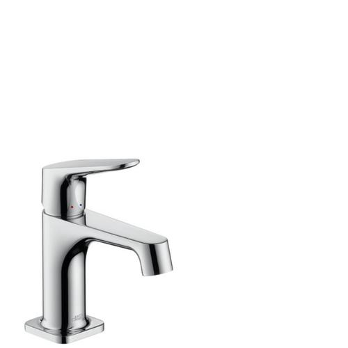 Chrome Single lever basin mixer 70 for hand washbasins with pop-up waste set