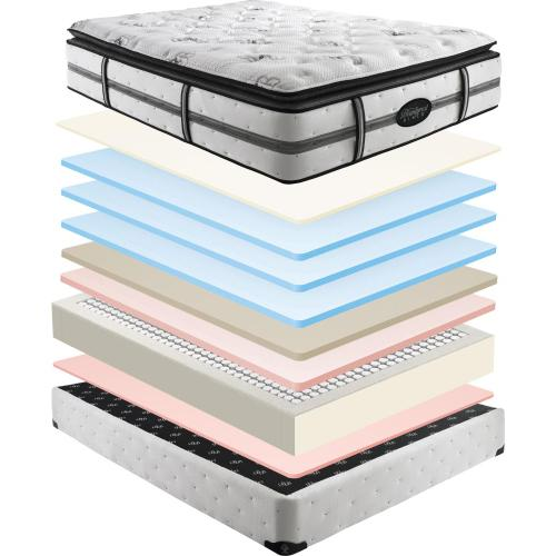 Beautyrest - Beautyrest - Black - Daniella - Plush - Pillow Top - Queen