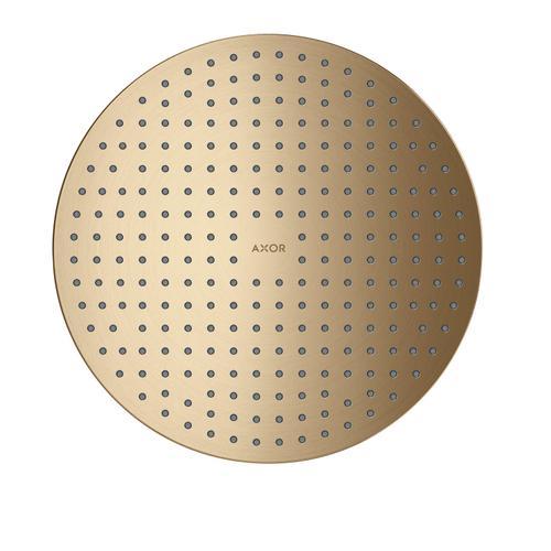 Brushed Bronze Overhead shower 300 1jet ceiling