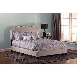 Lani Bed Kit - Full - Light Linen Gray