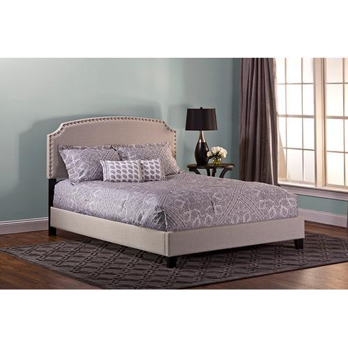 Hillsdale Furniture - Lani Bed Kit - Full - Light Linen Gray
