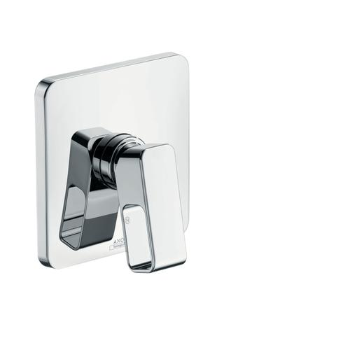 Brushed Brass Single lever shower mixer for concealed installation