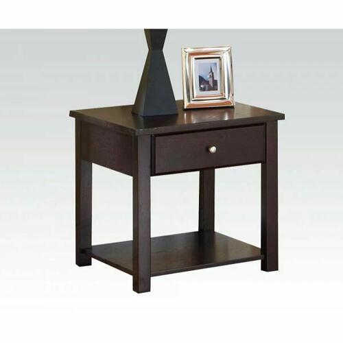 Acme Furniture Inc - ACME Malden End Table - 80258 - Espresso