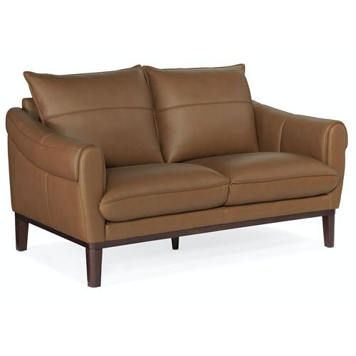 Living Room Sabine Saddle Arm Loveseat