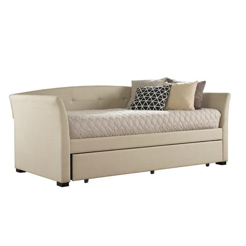 Hillsdale Furniture - Morgan Daybed With Trundle, Linen Sandstone