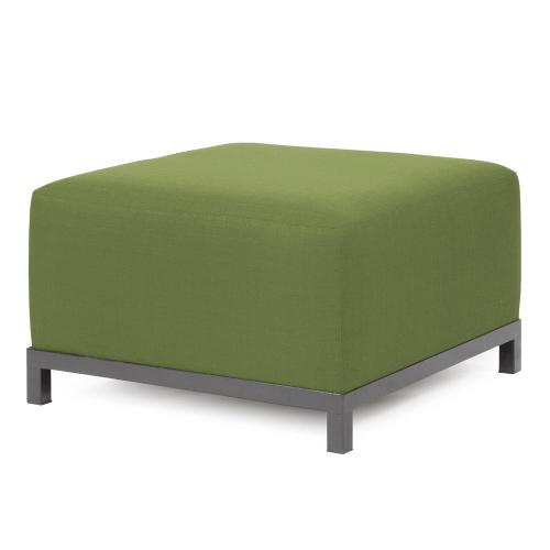Axis Ottoman Seascape Moss Slipcover (Cover Only)