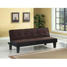 ACME Hamar Adjustable Sofa - 57028 - Chocolate Flannel Fabric