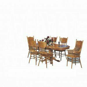 ACME Nostalgia Assembled Side Chair - 02185A-C - Oak