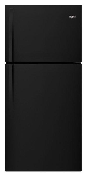 "Whirlpool™ 30"" Wide Top-Freezer Refrigerator with LED Interior Lighting"