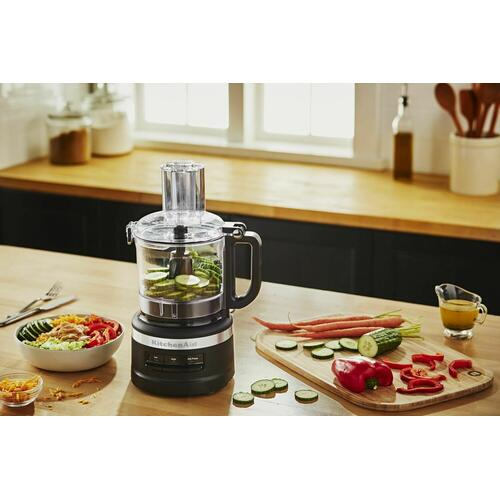 KitchenAid Canada - 7 Cup Food Processor - Black Matte