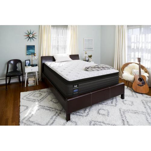 Energetic Cushion Firm Euro Pillow Top Queen Mattress