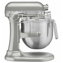 See Details - NSF Certified® Commercial Series 8 Quart Bowl-Lift Stand Mixer with Stainless Steel Bowl Guard - Nickel Pearl