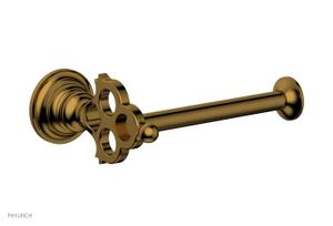 MAISON Single Post Paper Holder 164-74 - French Brass Product Image