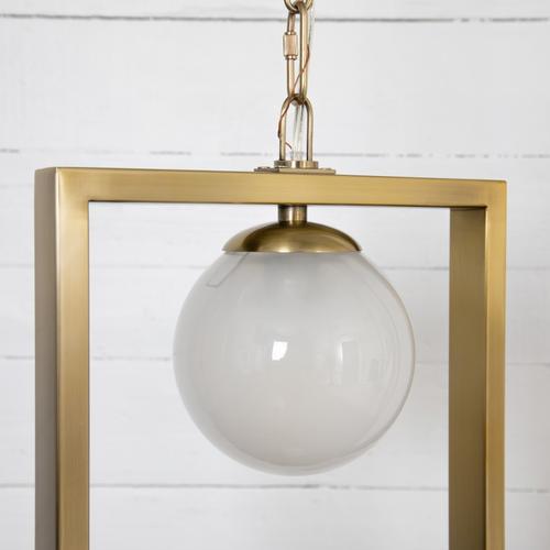 Large Size Lance Globe Pendant
