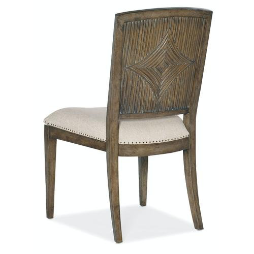 Dining Room Sundance Carved Back Side Chair-2 per ctn/price ea