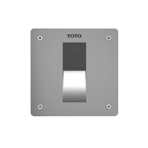 EcoPower Concealed Toilet Flush Valve - 1.6 GPF (V.B. Set) (Back Spud Floor) - Stainless Steel