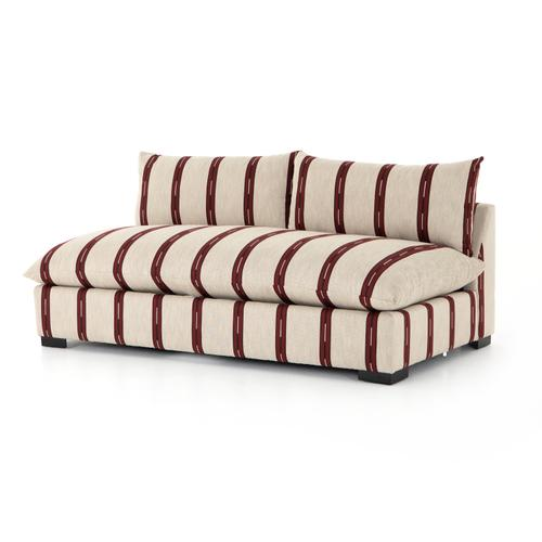 Armless Piece Configuration Zella Garnet Cover Grant Sectional Pieces