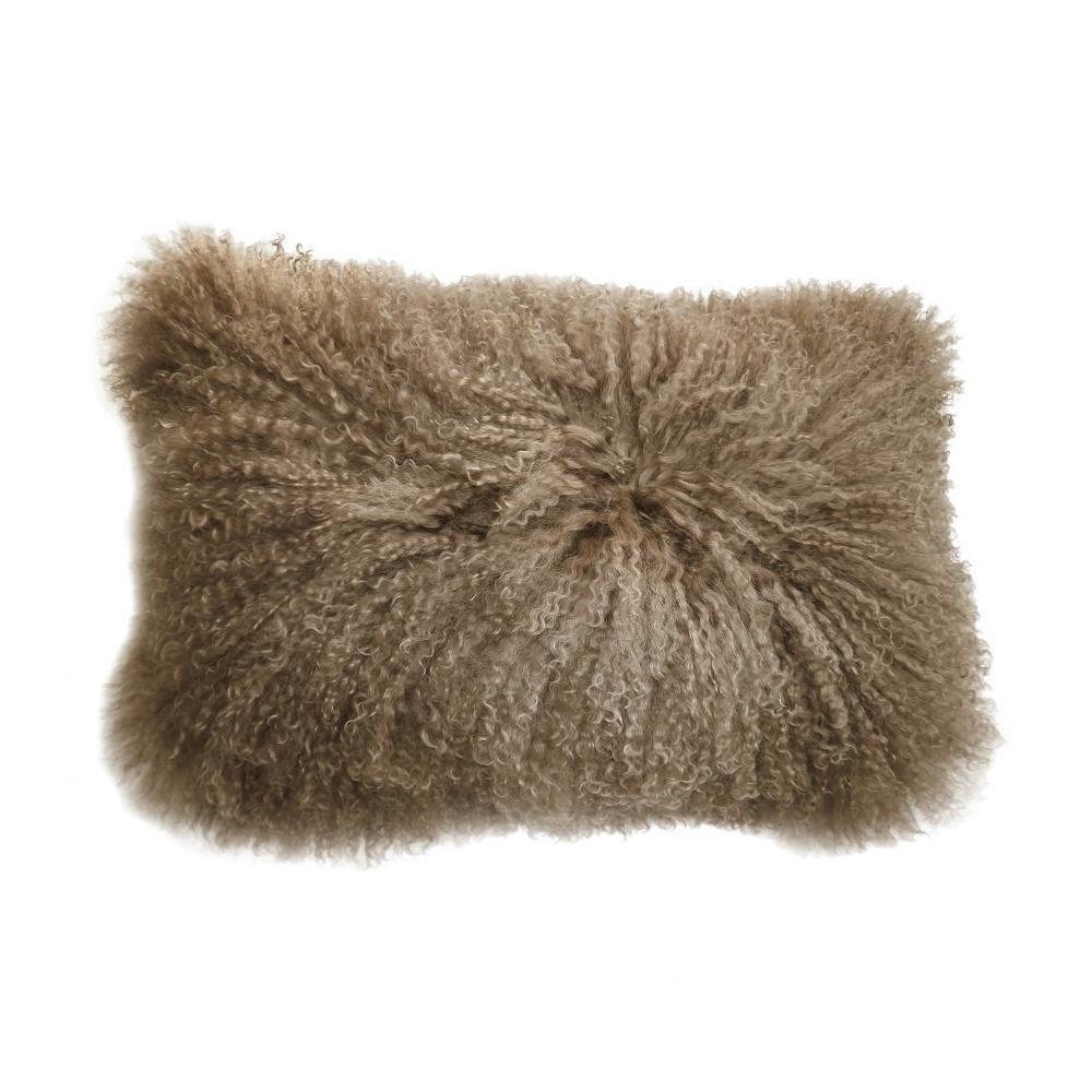 See Details - Lamb Fur Pillow Rect. Natural