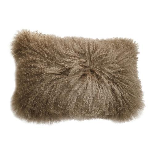 Moe's Home Collection - Lamb Fur Pillow Rect. Natural