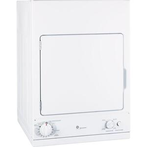 GEGE Spacemaker(R) 240V 3.6 cu. ft. Capacity Stationary Electric Dryer