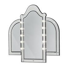 Vanity Mirror Black Iguana