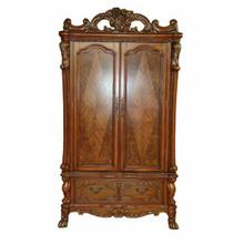 ACME Dresden TV Armoire - 12147 - Cherry Oak