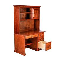 Forest Designs Traditional Alder Desk & Hutch: 48w x 72h