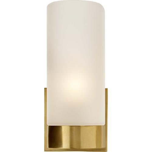 Barbara Barry Urbane 1 Light 4 inch Soft Brass Decorative Wall Light