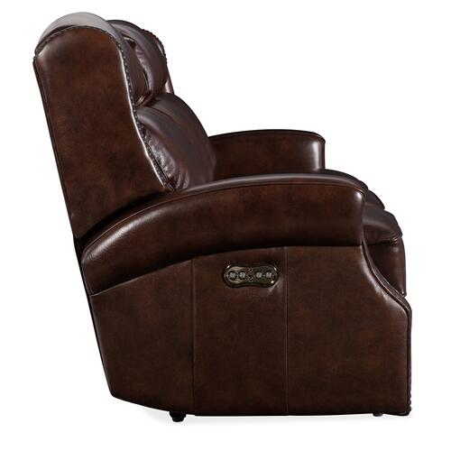 Hooker Furniture - Carlisle Power Recliner Sofa w/ Power Headrest