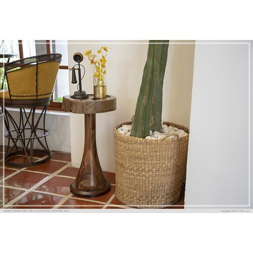 Gallery - Martini Table w/ Wooden Base
