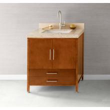 "View Product - Juno 30"" Bathroom Vanity Cabinet Base in Cinnamon"