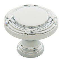 View Product - Polished Chrome Round Edinburgh Knob