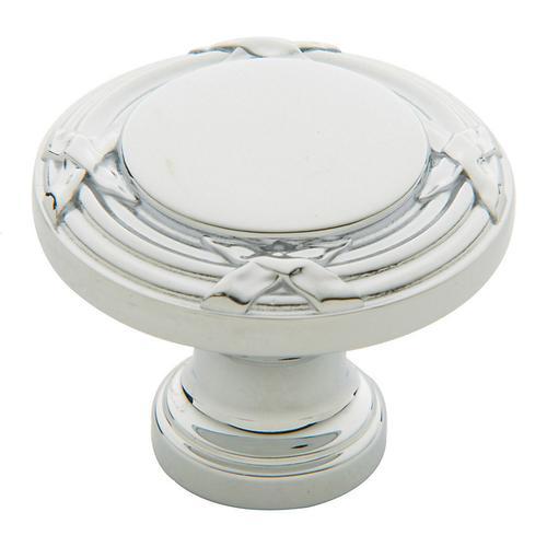 Baldwin - Polished Chrome Round Edinburgh Knob