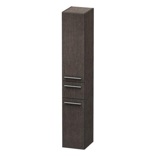Duravit - Tall Cabinet, Brushed Dark Oak (real Wood Veneer)