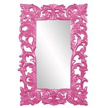 View Product - Augustus Mirror - Glossy Hot Pink