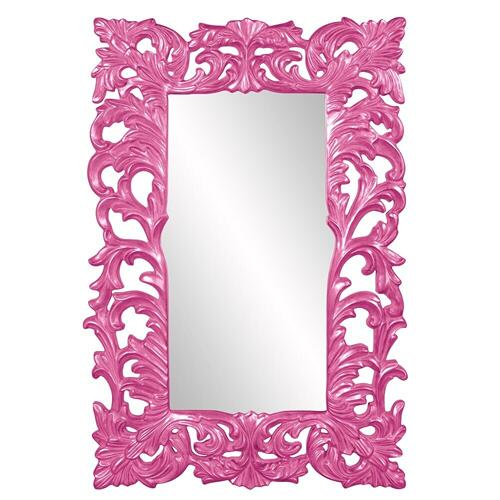 Howard Elliott - Augustus Mirror - Glossy Hot Pink