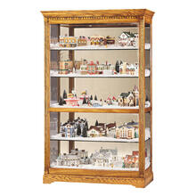 See Details - Howard Miller Parkview Curio Cabinet 680237