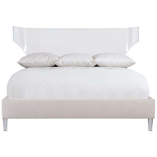 See Details - King-Sized Estella Acrylic Upholstered Bed