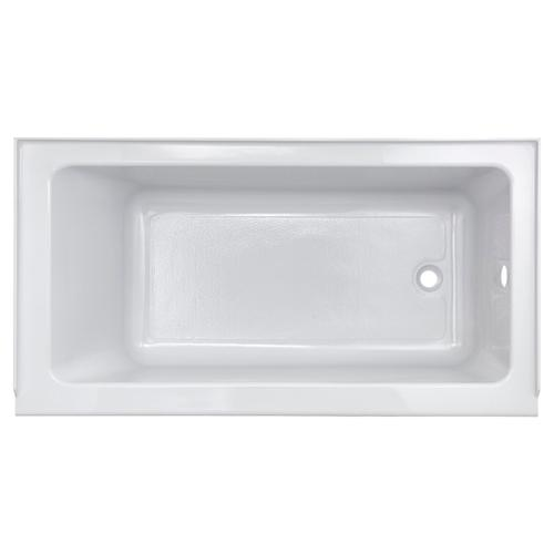 Studio 60 x 30-inch Bathtub with Apron  Left Drain  American Standard - Arctic White