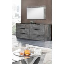 See Details - Nova Domus Ferrara - Modern Volcano Oxide Grey Dresser